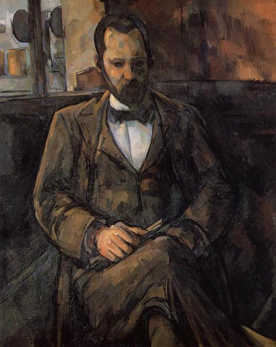 famous painting Retrato de Ambroise Vollard of Paul Cezanne