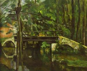 Paul Cezanne - El puente en Maincy