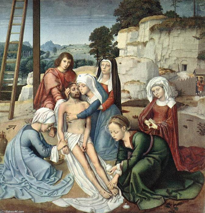 famous painting Declaración of Gerard David