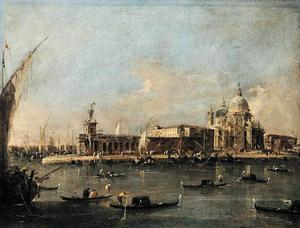 Francesco Lazzaro Guardi - La Punta di Dogana