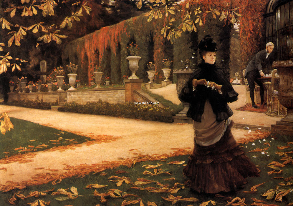 famous painting la letra of James Jacques Joseph Tissot