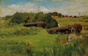 William Merritt Chase - La paz , Fortaleza Hamilton