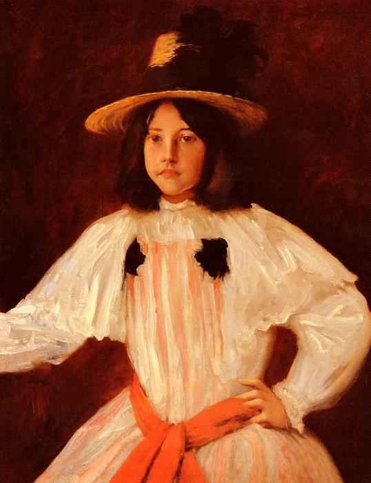 famous painting La Banda Roja of William Merritt Chase