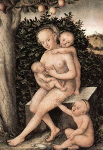 Lucas Cranach The Elder - caridad