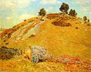 Frederick Childe Hassam - Bornero Colina , de old lyme , Connecticut