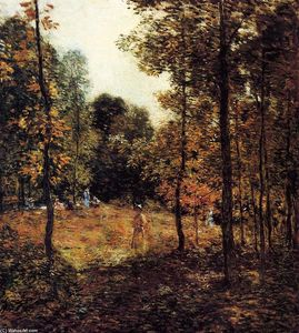 Willard Leroy Metcalf - El Picnic