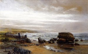William Trost Richards - nuevo Inglaterra costa