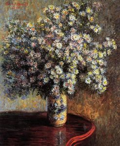 Claude Monet - Asters