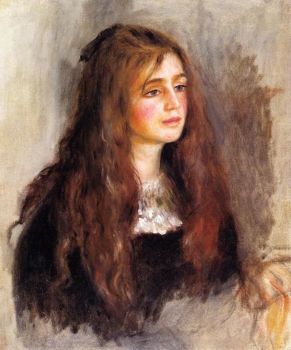 famous painting Julia Manet of Pierre-Auguste Renoir
