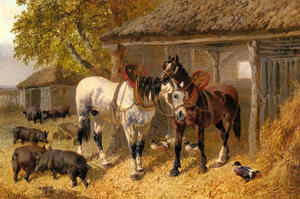 John Frederick Herring Junior - El corral 3