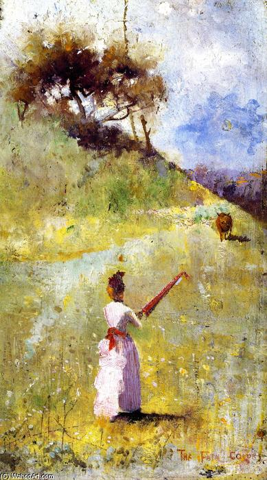 famous painting Los colores fatales of Charles Edward Conder