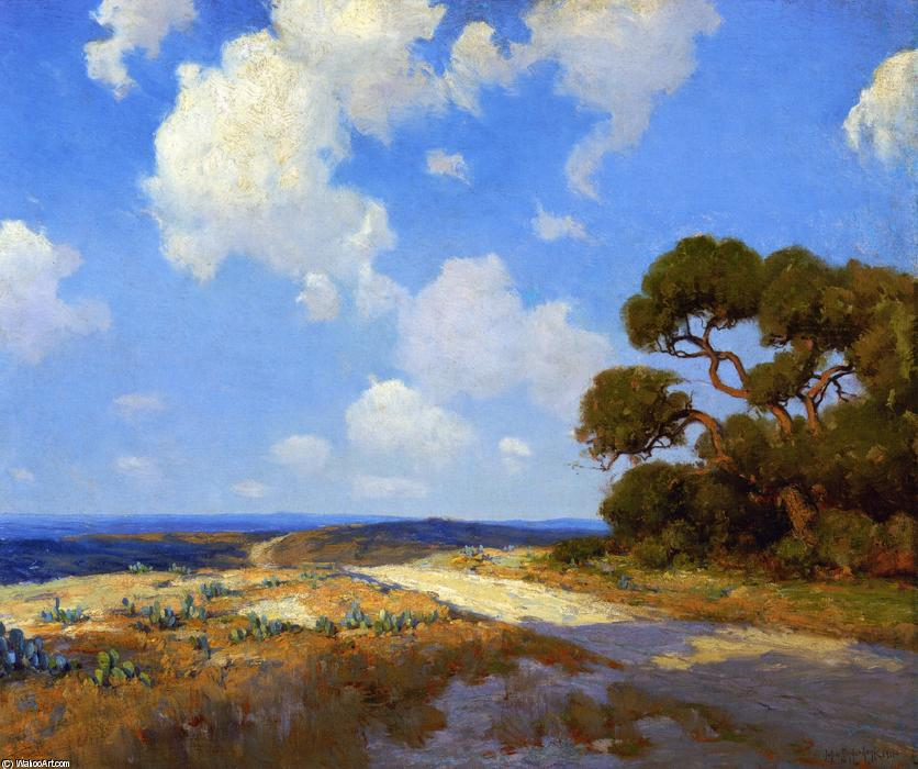 famous painting Hill Country Carril of Robert Julian Onderdonk