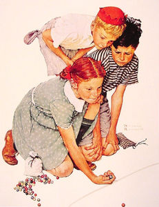 Norman Rockwell - canica campeón