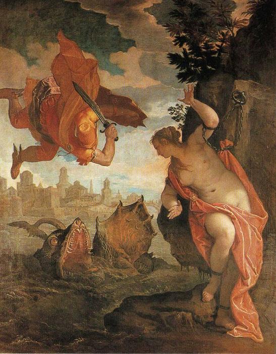 Pedir Reproducciones De Bellas Artes Impresionista   Perseo liberando a Andrómeda de Paolo Veronese   TopImpressionists.com