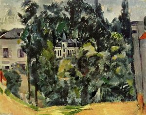 Paul Cezanne - Castillo of Marines