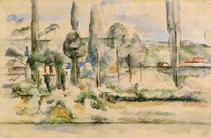 Paul Cezanne - Chateau de Madan