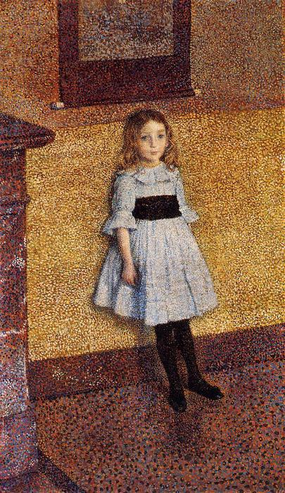 famous painting poco denise of Theo Van Rysselberghe