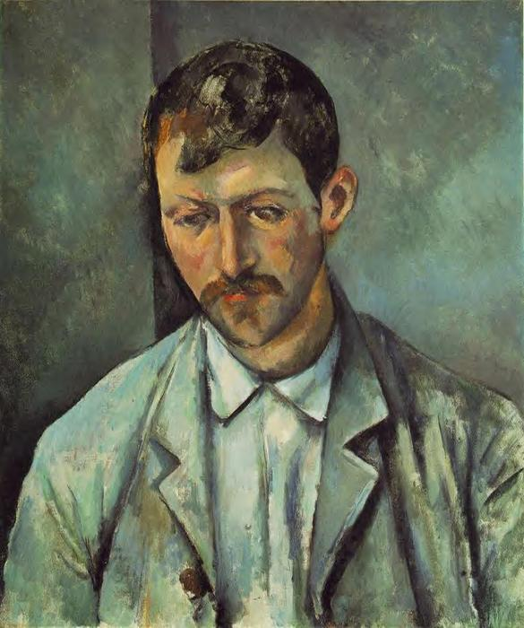 famous painting El Campesino of Paul Cezanne