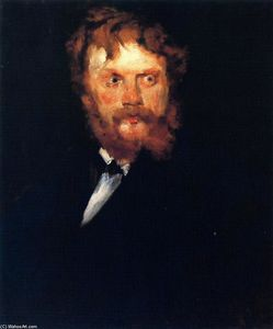 William Merritt Chase - retrato de d . Drindel
