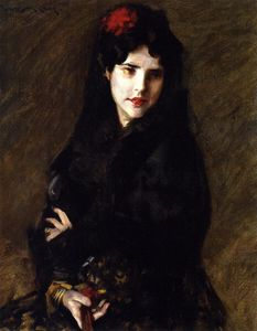 William Merritt Chase - retrato de mrs . Do ( también conocida como El Artist's Esposa )