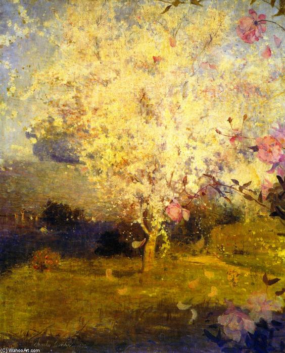 famous painting Springime of Charles Edward Conder