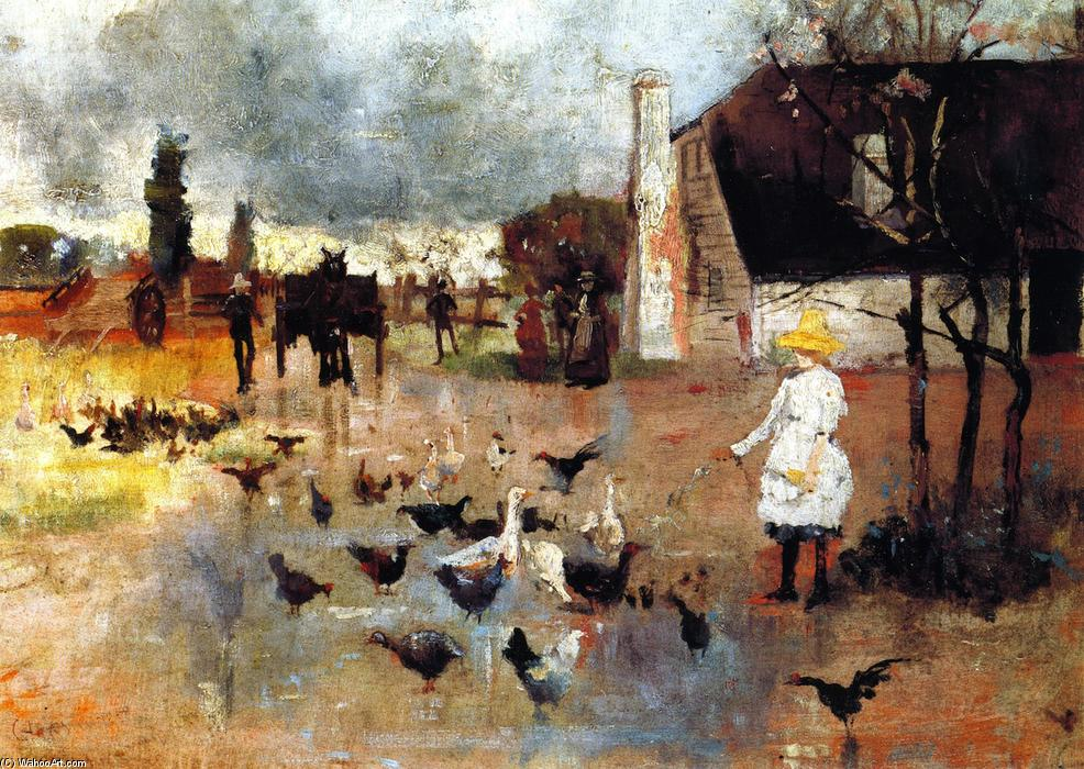 famous painting tetera hora of Charles Edward Conder