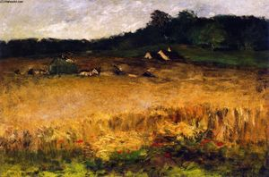 William Merritt Chase - Campo De Trigo