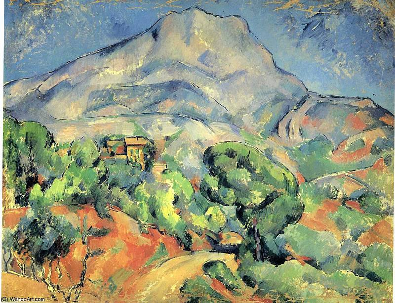 famous painting sin título (5782) of Paul Cezanne
