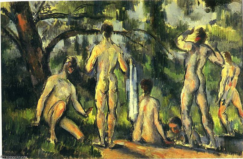 famous painting Sin título 4075   of Paul Cezanne