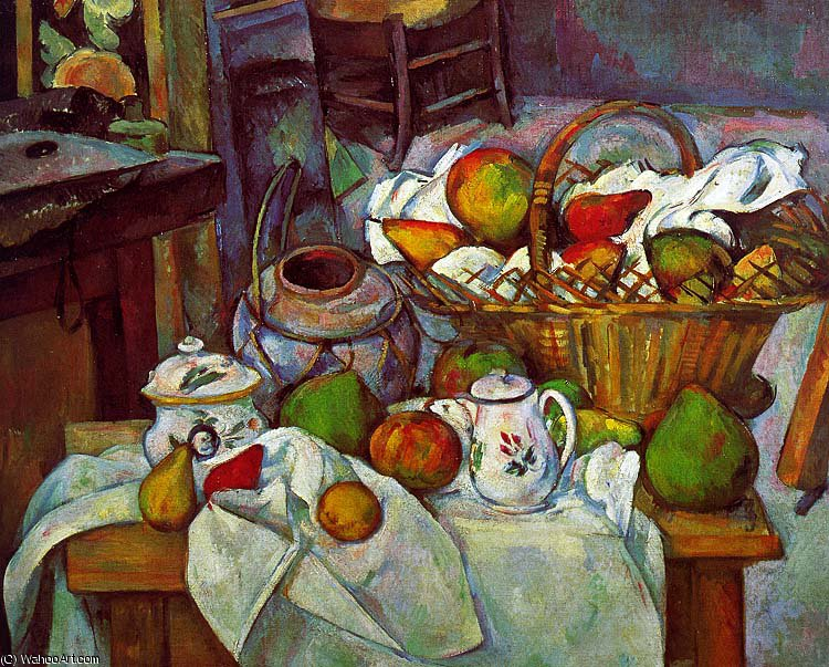 famous painting sin título (3142) of Paul Cezanne