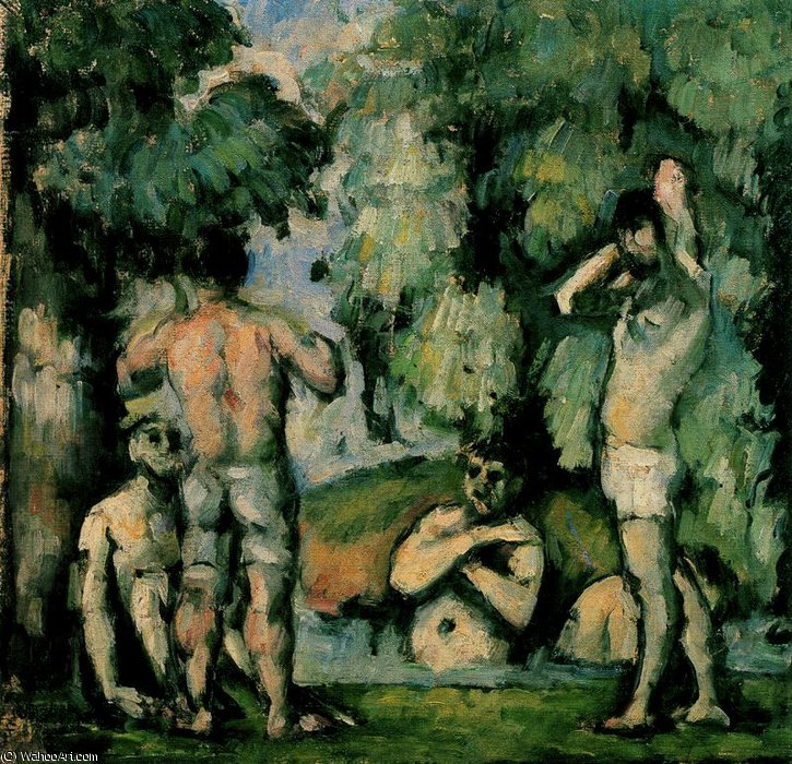 famous painting Sin título 8537   of Paul Cezanne