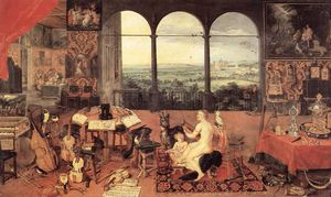 Jan Brueghel The Elder - Sentido de la Audiencia
