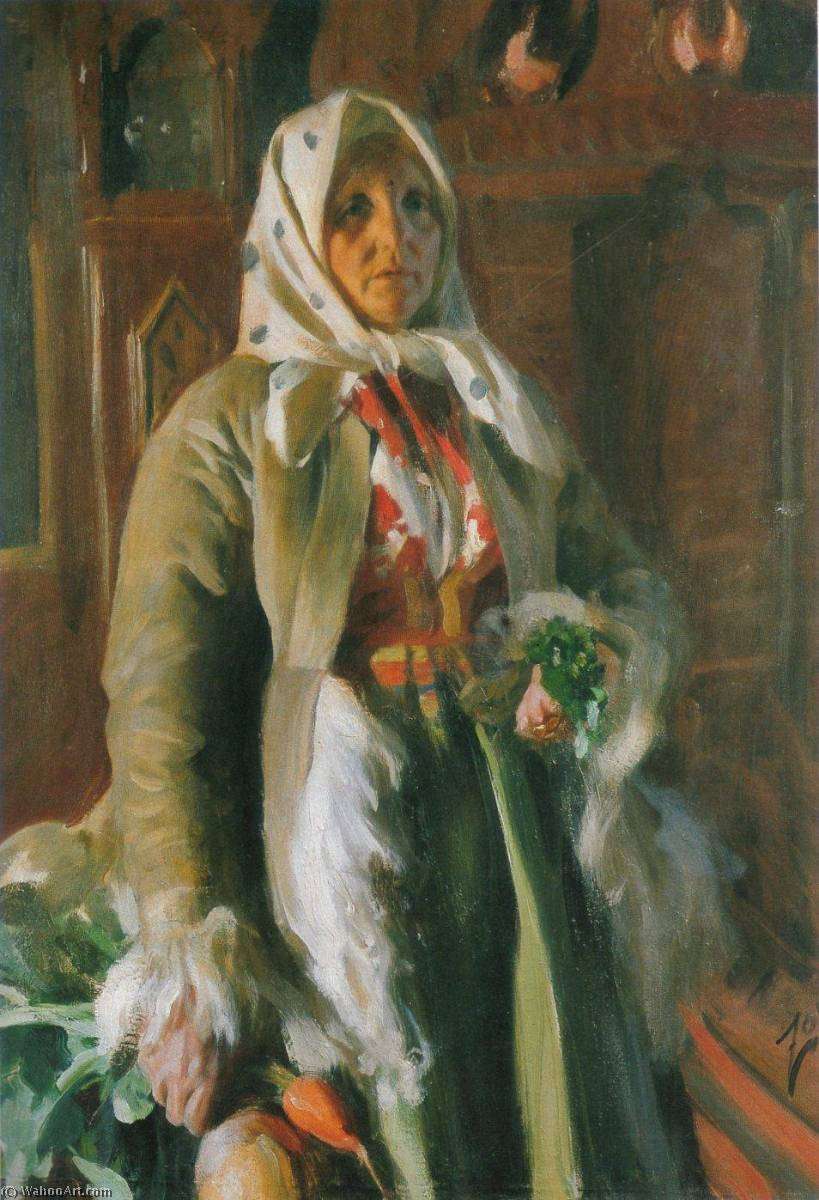 famous painting Mona of Anders Leonard Zorn