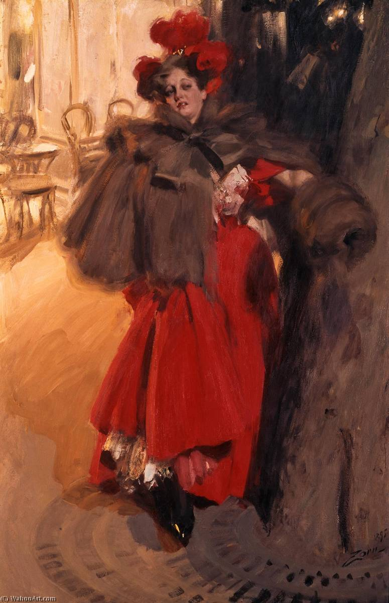 famous painting  of Anders Leonard Zorn