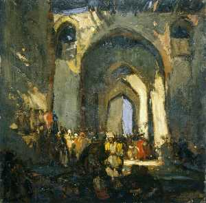 Frank William Brangwyn - La Mezquita