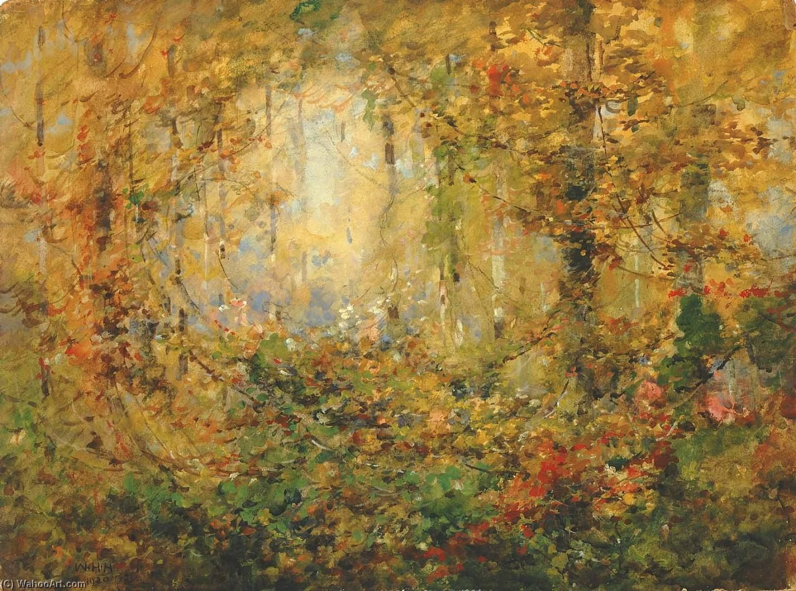 famous painting Otoño enredo  of William Henry Holmes