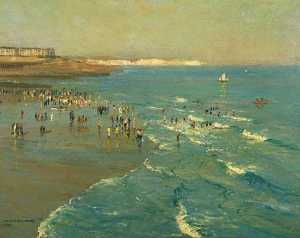 Arthur James Wetherall Burgess - Brighton Playa